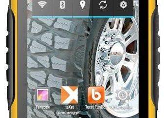 Telefon komórkowy TEXET X-kierowca Quad TM-4082R: opinie, specyfikacja