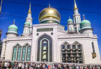 Moschea di Mosca (prospettiva della pace): la storia della costruzione e della posizione