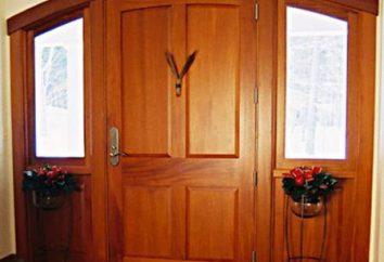 panelami drzwi: wejście i wnętrze