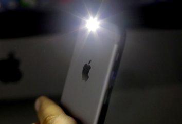 """Jak włączyć latarkę na """"iPhone 5S"""": porady i wskazówki"""