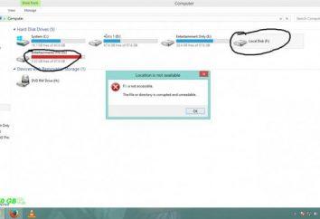 sistema de archivos del volumen no es reconocido (unidad flash USB). ¿Qué hacer, cómo restaurar?