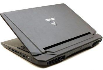 Laptop Asus G750JX: especificações, fotos e comentários