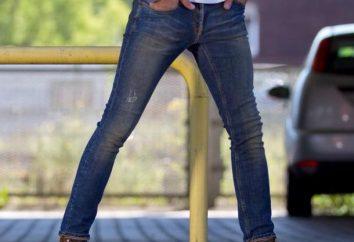 Da cosa indossare jeans stretti? i jeans molto magro per gli uomini neri (foto)