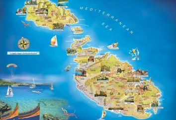 Wo ist Malta, wo wolkenlos Urlaub