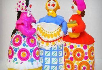 zabawki gliny. Zabawki – gliniane gwizdki. Malowane zabawki gliniane