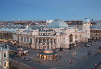 """Witebsk Station (stacja metra """"Pushkinskaya""""): a podróż przez lata"""