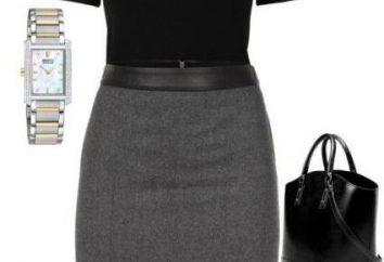 Szara spódnica: w co się ubrać