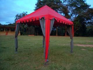 Wie ein Zelt-Zelt für Garten wählen