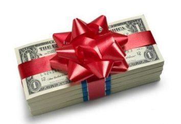 Dary pieniądze na ślub z jego własnymi rękami: Pomysły