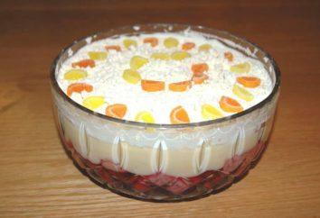 Sobremesa de creme de leite com gelatina e frutas: diferentes e saborosas guloseimas