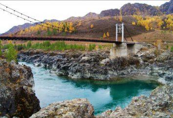 Seuil Tyldykpen-1 et Oroktoysky Bridge: attractions Gorny Altaï