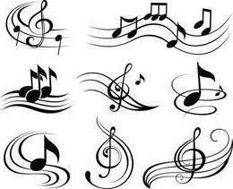 Pausar a música: descrição, nome e características de escrita