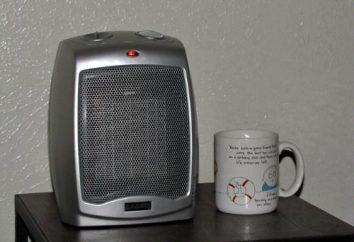 riscaldatori di ceramica: recensioni, prezzi, foto