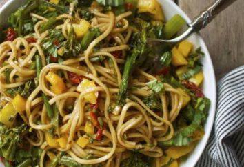 Passo dopo passo ricetta: pasta di grano saraceno con verdure