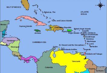 Los países del Caribe y sus capitales