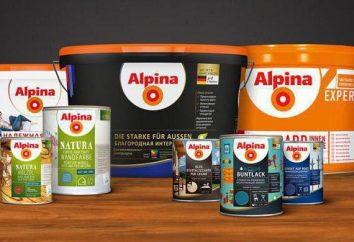 Alpina – la pintura de la empresa alemana Caparol: reseñas de constructores