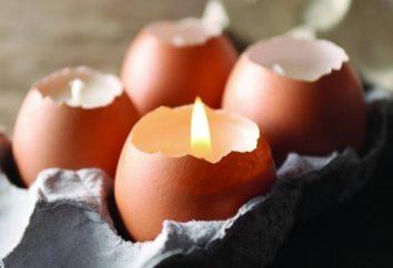 Artesanato de casca do ovo: algumas ideias originais