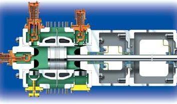 compressori a pistone: varietà, disegno, principi di funzionamento e dispositivo di selezione