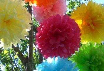 Dowiedz się, jak zrobić kwiat z papieru budowy z rąk (cztery sposoby)
