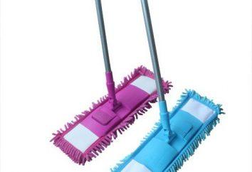 Mop avec les locaux de nettoyage Microfibre
