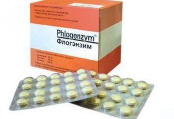 """""""Phlogenzym"""": instruções de utilização, os médicos reais. Análogos """"Flogenzima"""""""