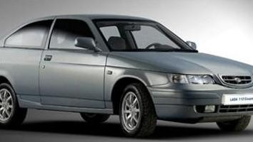 VAZ-2112 coupe – stylowy modny, nowoczesny