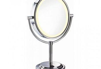 Miroir cosmétique Babyliss 8438E: spécifications, commentaires, prix