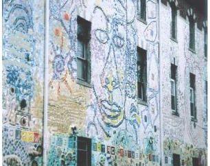 pittura facciata: che la casa era bella