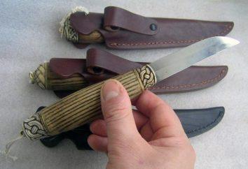 Fiński nóż. Fiński nóż z rąk
