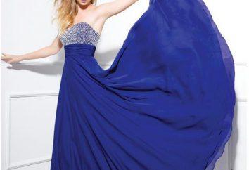 De lo que debe llevar el vestido azul en el suelo?