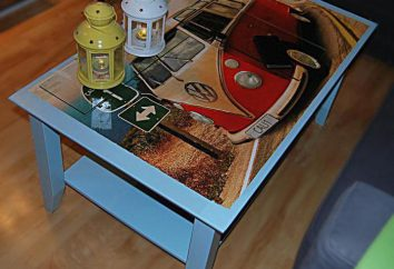 Renowacja stołu z rękami