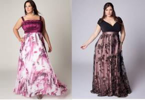vestido de noche de gran tamaño – exuberante belleza