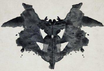 Test Rorschacha. Test na badanie osobowości