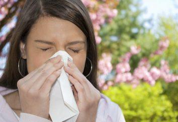 sintomi di allergia negli adulti. allergia primavera