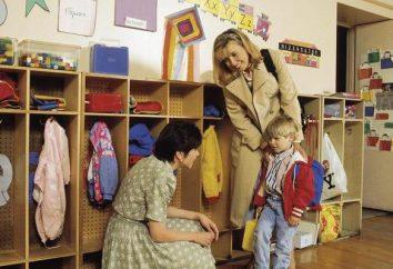 por niño en edad preescolar característico del grupo educador