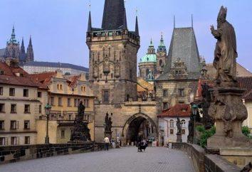 Le famose attrazioni Repubblica Ceca