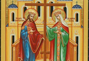 Festa dell'Esaltazione della Santa Croce. Segni per la vacanza e il loro significato