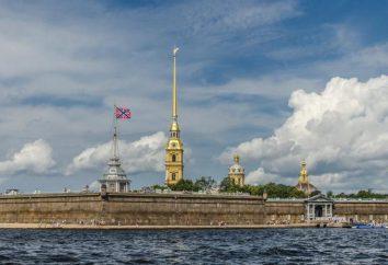Histoire de la forteresse Pierre et Paul à Saint-Pétersbourg