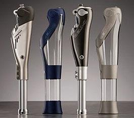 protesi della gamba – dispositivi high-tech