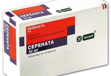 Tabletki Serenata: instrukcje użycia, analogi, recenzje