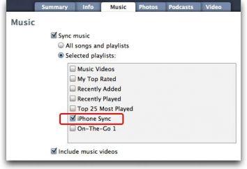 Jak synchronizować muzykę z iTunes