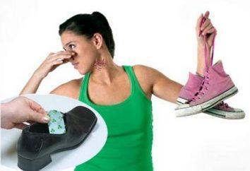 Deodorant für Schuhe als eine Möglichkeit Geruch zu beseitigen
