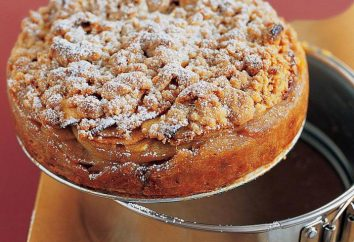 """Pie """"Zärtlichkeit"""" mit Quark und Äpfeln: das Rezept mit einem Foto"""