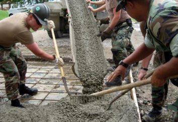 La consommation de ciment par 1 m2 briquetage: types de mélange de ciment et de ses normes