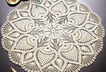 Vamos falar sobre como fazer tricô guardanapos de crochê: uma master class para iniciantes
