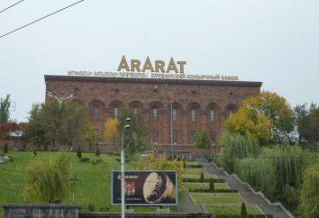 Le produit de la marque « Ararat », « Akhtamar » – pour les connaisseurs de cognac