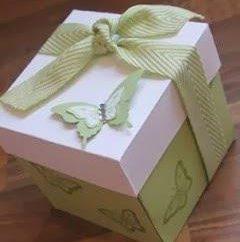 Geschenkbox aus Pappe mit eigenen Händen: einfache Pläne
