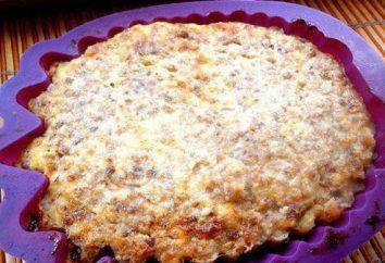 Krupenik de sarrasin avec du fromage: recettes