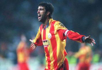El delantero del fútbol turco Hakan Şükür: biografía con fotos
