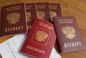 Sostituzione della dell'età passaporto. Sostituzione del passaporto in 45 anni